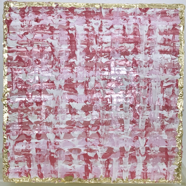 PAINTINGS Pink Confetti III