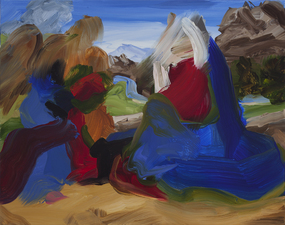 Elise Ansel Paintings oil on canvas