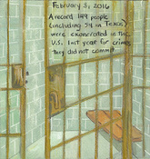 First Radio Headline Heard of the Day Drawing Project watercolor, gouache, graphite, color pencil, water soluble crayon on paper