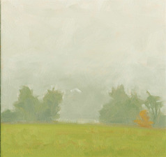 Elizabeth Sauder A Country Year oil on panel, plein air