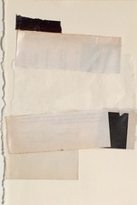 ELIZABETH HARRIS COLLAGE Vintage paper