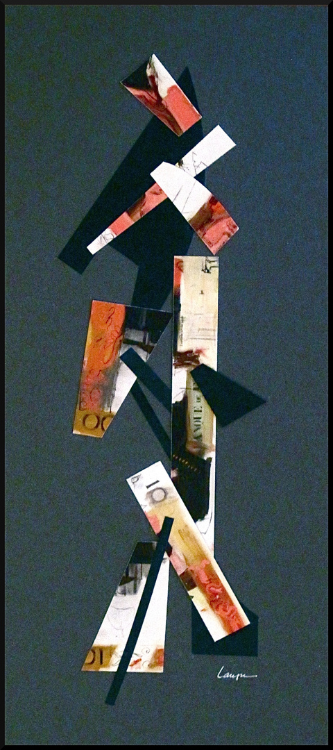 Verticals Collage / 19 x 8