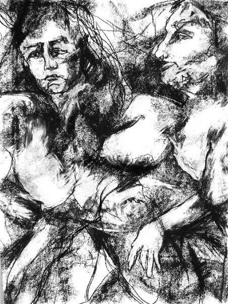 Drawings Charcoal / 24 x 18