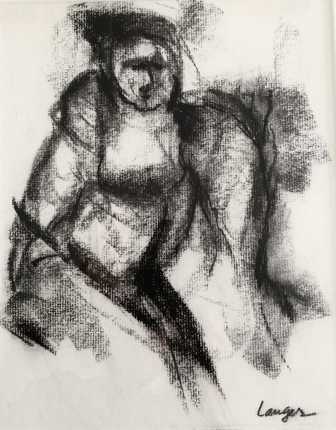 Drawings Charcoal / 12 x 9