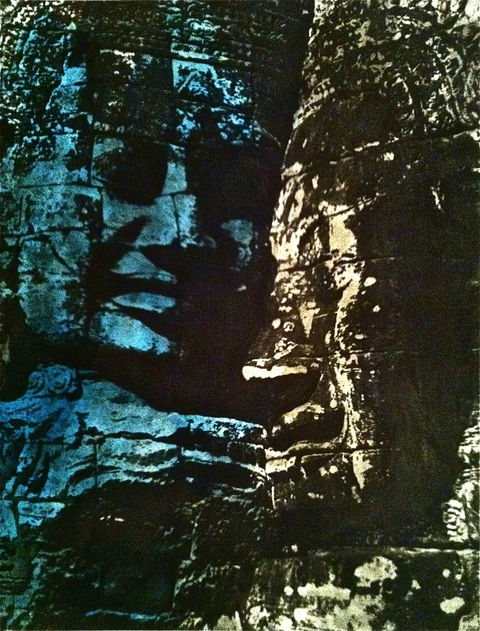 Buddha Series Etching / 16 x 12