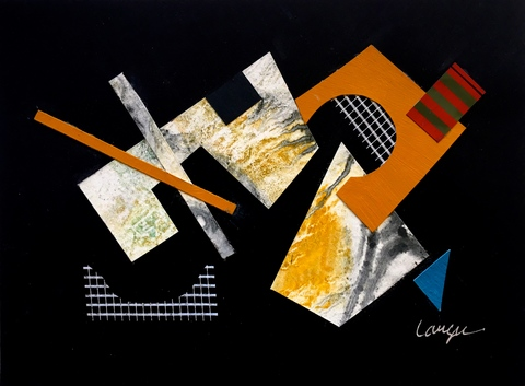 Lost & Found Quartet Collage /  6 x 8