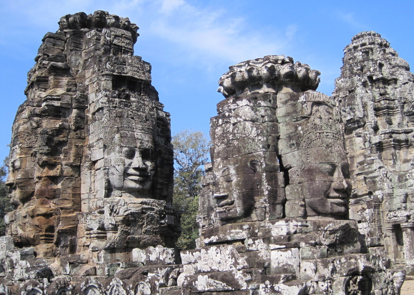 Buddha Series BAYON TEMPLE AT ANGKOR THOM