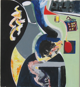 ELIZABETH YAMIN PAINTINGS 2000-2010 acrylic/paper, mounted on panel