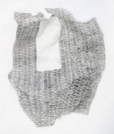 Elizabeth Duffy Prolonged Exposure and Repetition Delirium  pencil on paper