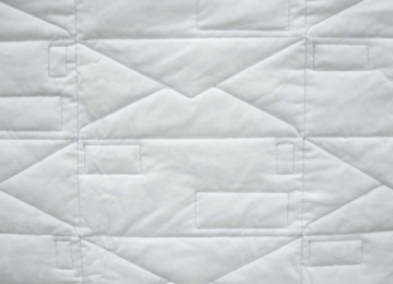 Elizabeth Duffy Security Envelope Quilts and Drawings