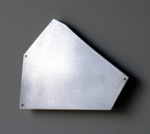 Elizabeth Mead Physical Drawings Aluminum