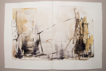 Elizabeth Mead signatures and thoughts iron gall ink sourced from Hampstead Heath