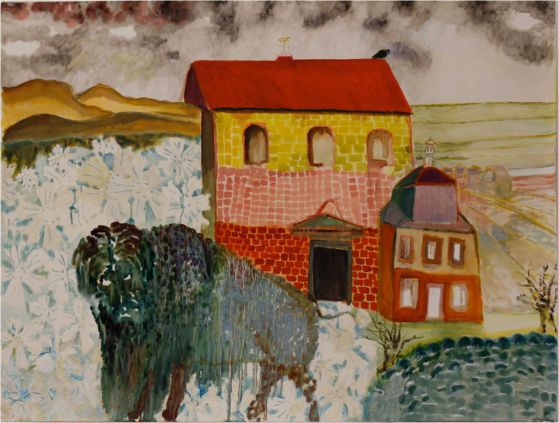Elizabeth Terhune Aurochs & Adages oil on paper