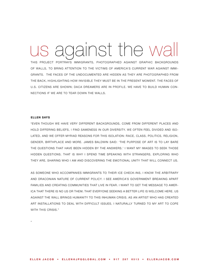Us Against the Wall  Us Against the Wall