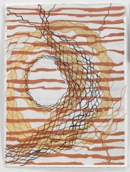 Ellen Kahn Abstract Works on Paper mixed media