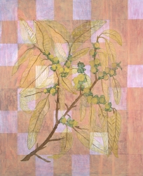 Ellen Kahn Botanical Paintings oil on canvas