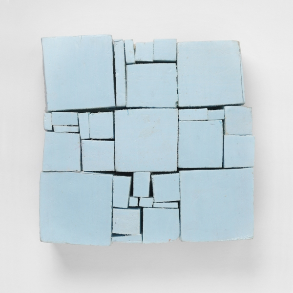 Styrofoam Constructions Blue Square