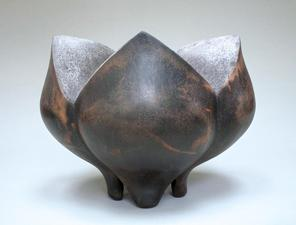 Ellen Schön  Wellspring Series Saggar-fired clay