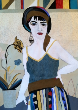 Ellen S. Gordon Figurative Collages