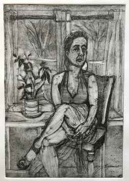 Ellen S. Gordon Born with Good Legs Intaglio Prints