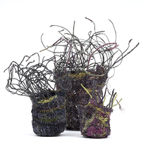 Ellen Solari Sculptural Baskets sculptural baskets