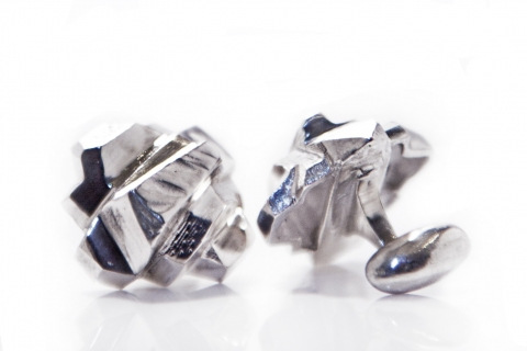 Elyse Garling Jewelry Cufflinks Sterling Silver