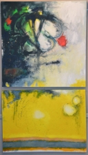 Elyssa Wortzman Paintings Acrylic, charcoal on canvas