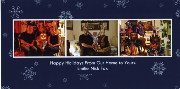 Emilie Lemakis Holiday Cards