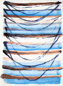 EMILY BERGER Small inks on paper ink on paper