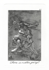The Caprichos Etching and Aquatint