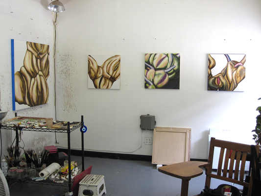 Emily Roz Studio - Work In Progress
