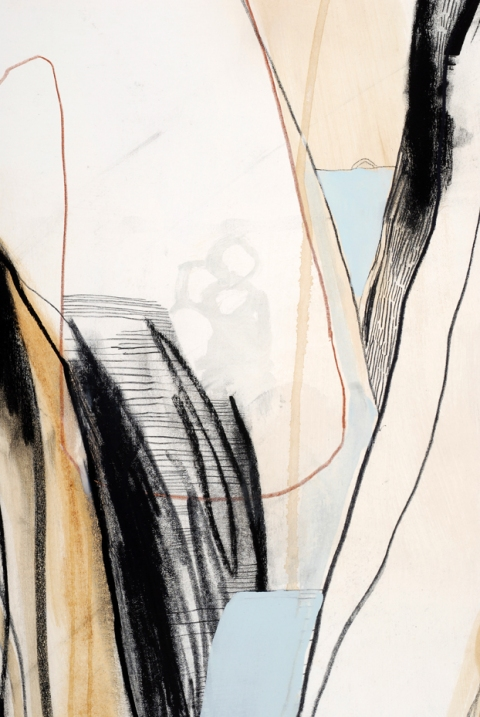 works on paper Through 2 (Detail)