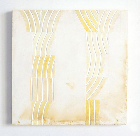 EMILY WEISKOPF Pixan Paths 2015 - Oxides and Plaster