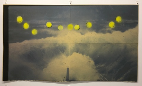 William Eric Brown Photographs & Works on Paper Ink jet and spray paint on paper
