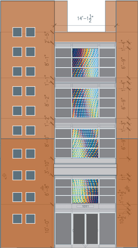 public art  Adams/Central Project Schematic