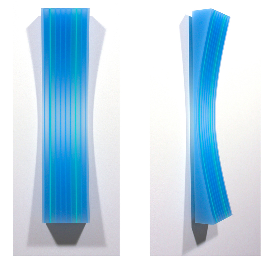 sculpture bluegreen 2 aqua concave