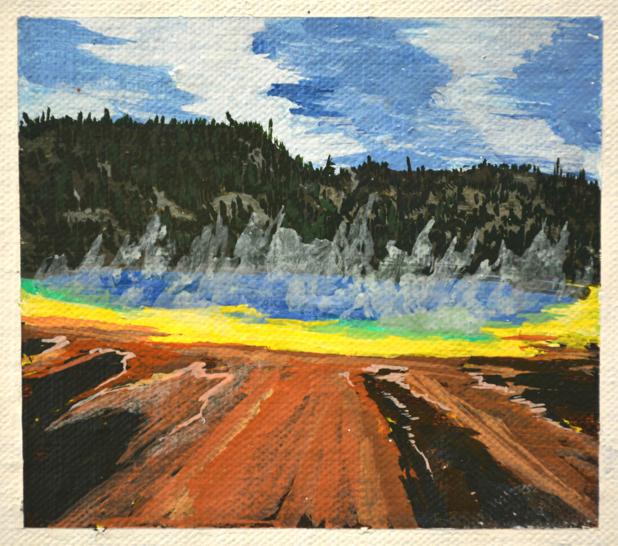 Paintings Yellowstone (Grand Prismatic)