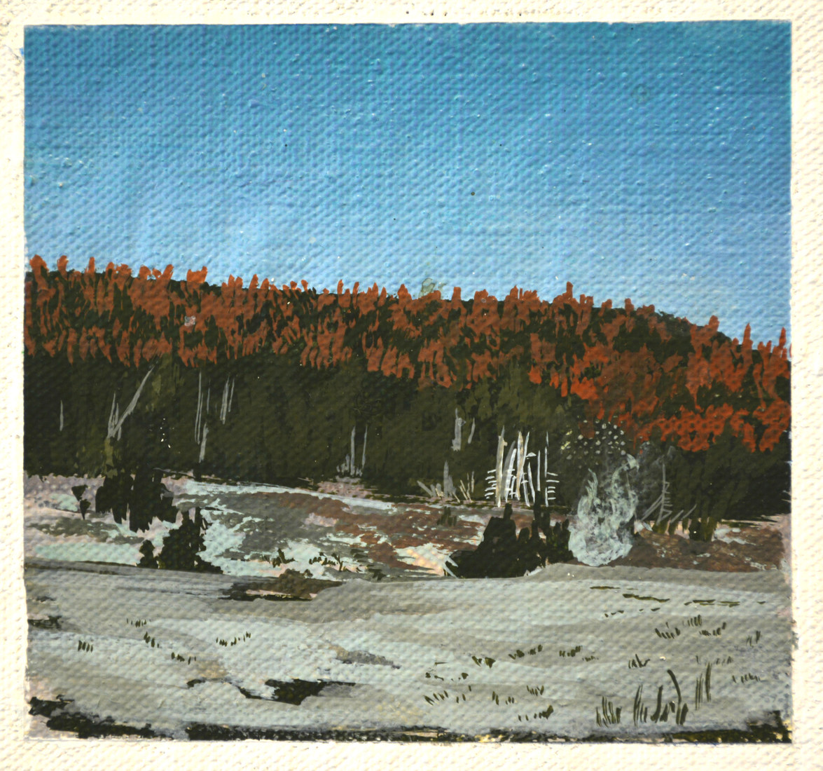 Paintings Yellowstone (near old faithful)