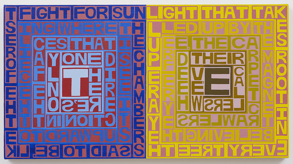 Erik den Breejen Recent Paintings Acrylic on linen