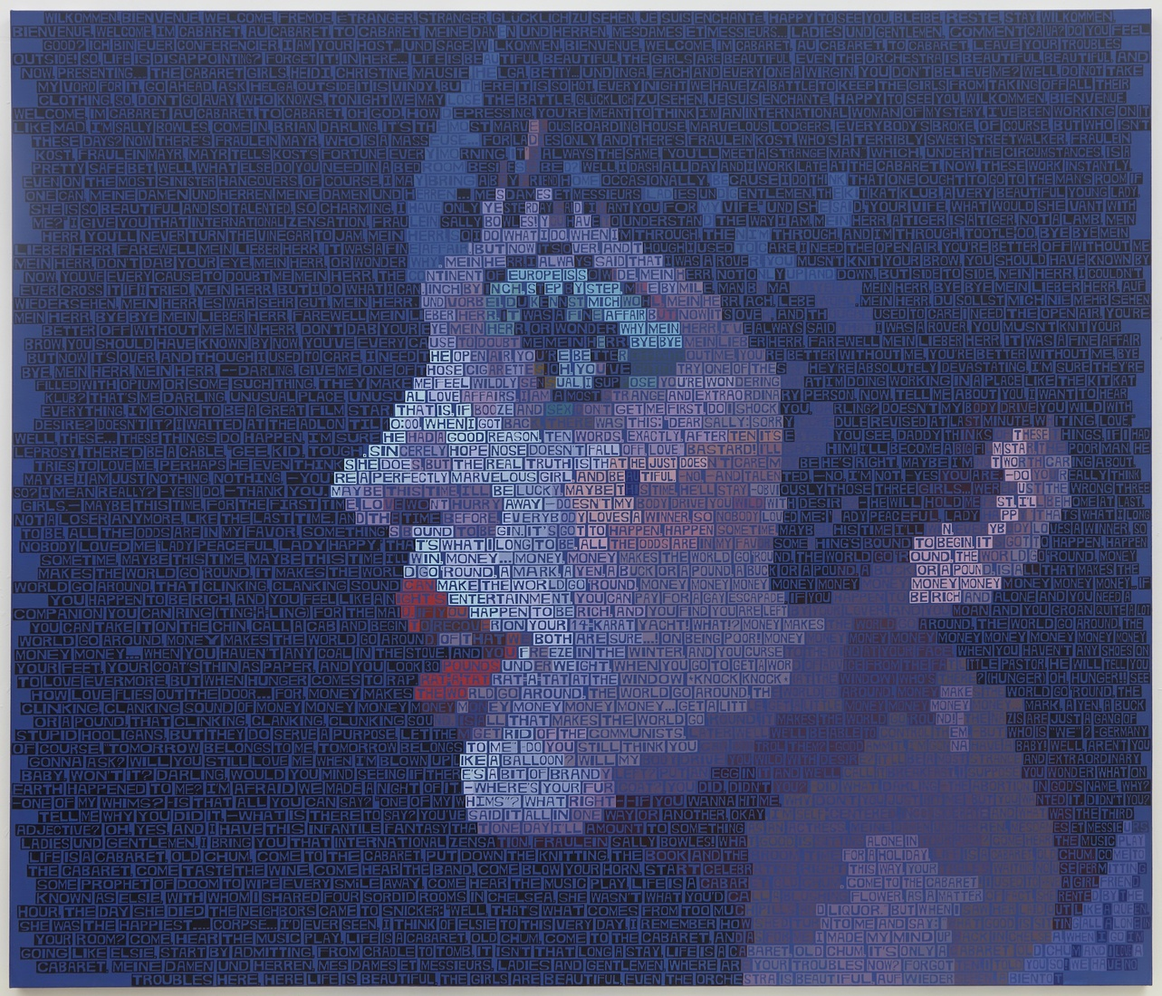Paintings Liza Minnelli In Cabaret