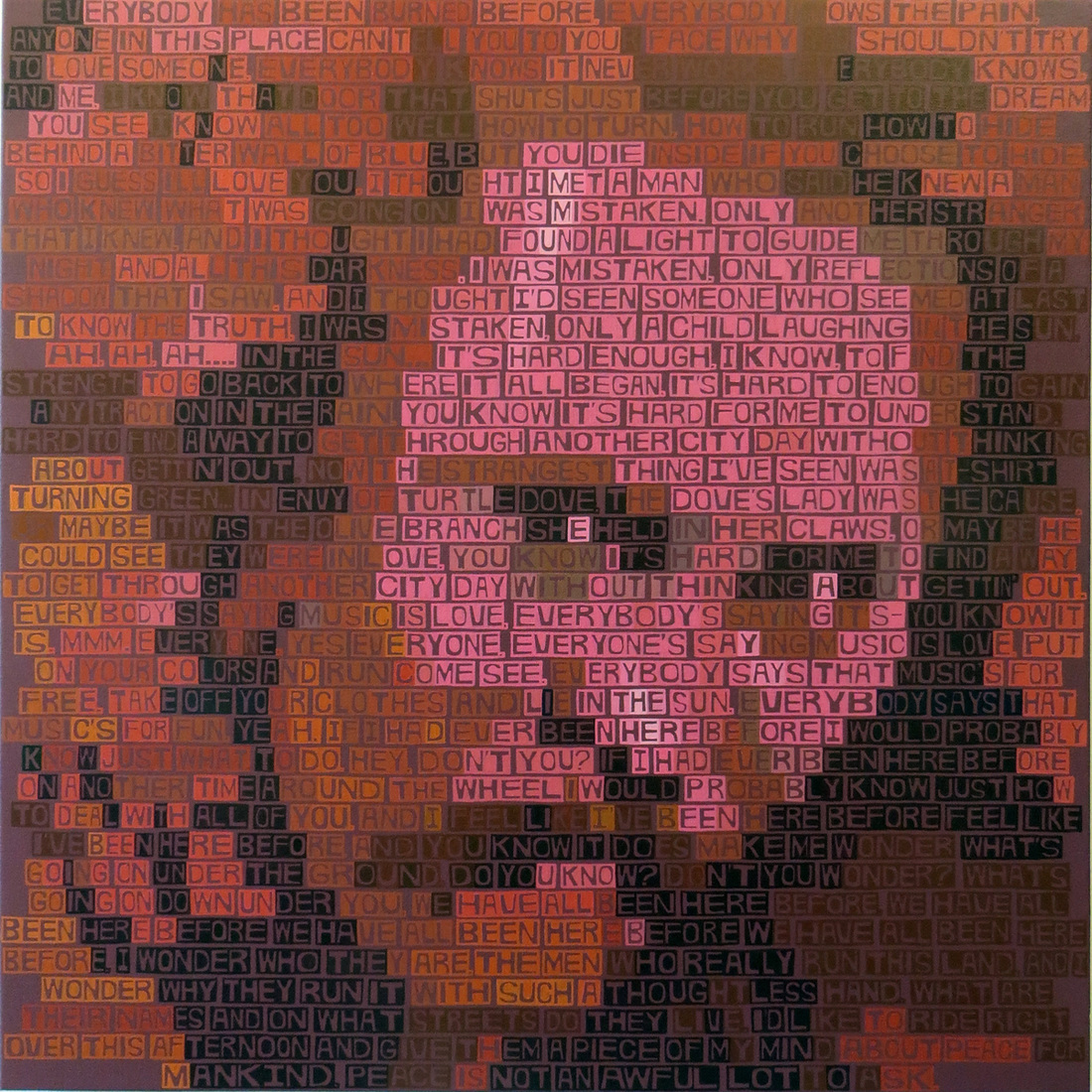 Paintings David Crosby (If I Could Only Remember My Name)