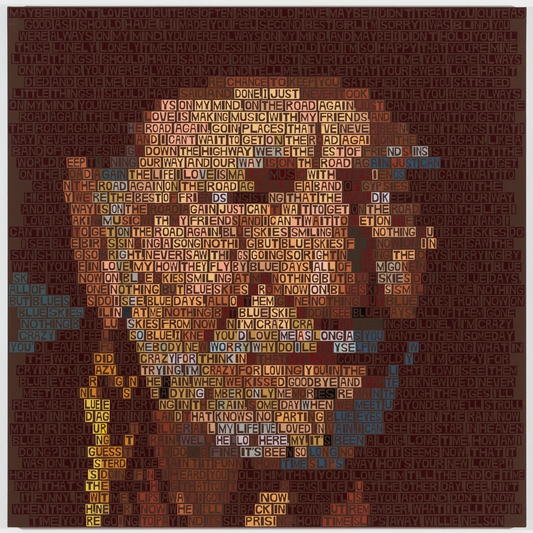 Paintings Willie Nelson (The Life I Love)
