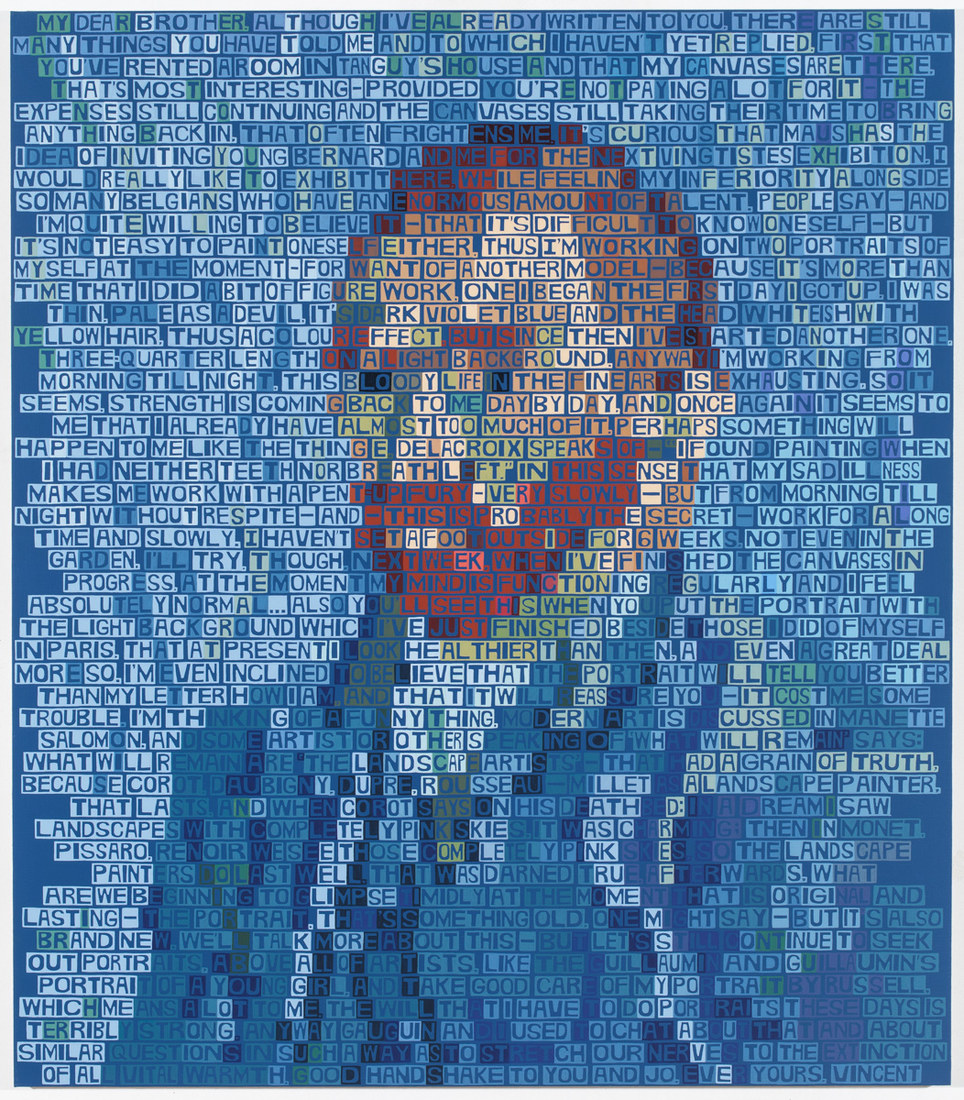 2014-2015 Van Gogh (Self Portrait 1889)