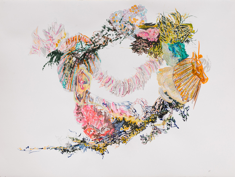 Works on Paper Island/Centerpiece 15