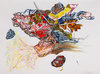 Works on Paper Pencil, Conte, Marker, Acrylic on Paper