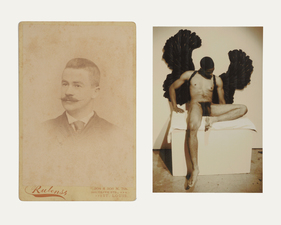 ERIC SHULTIS  Photo photo, Victorian cabinet card