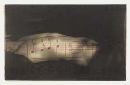 ERIC SHULTIS MOPA sheet music, photo on acetate