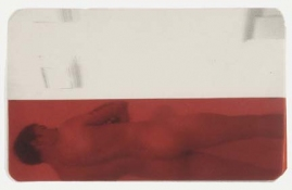 ERIC SHULTIS MOPA photo on acetate, red gelatin paper