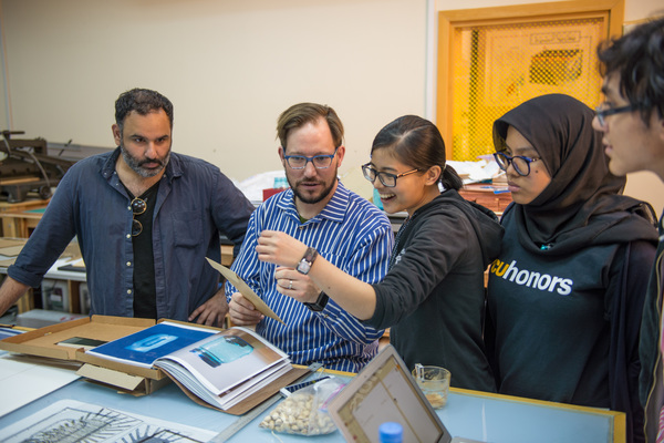 FANOON: CENTER FOR PRINTMEDIA RESEARCH Visit