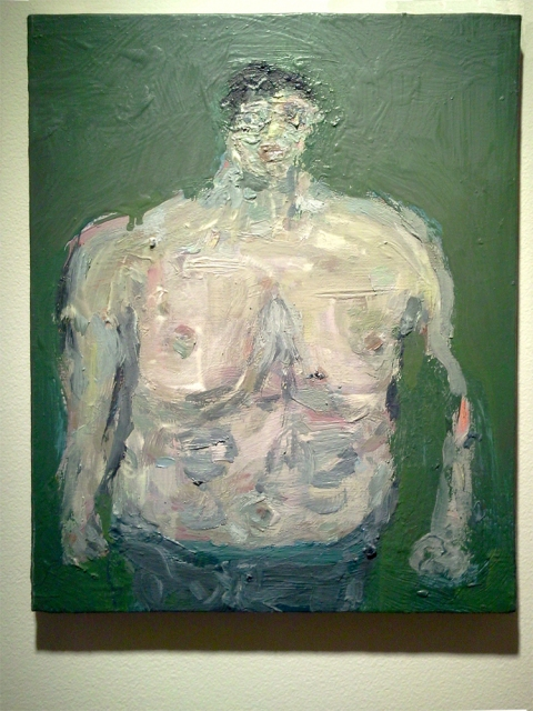 FB @ John Davis Gallery 2015 and 2012 Big Bather Bernard